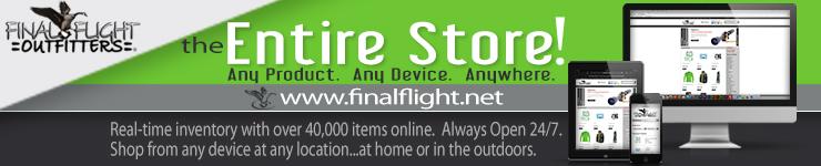 Final Flight Website Banner